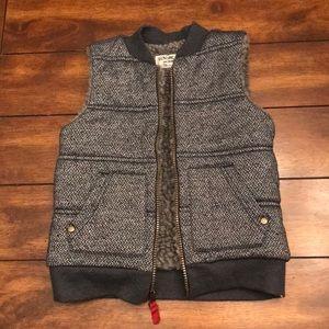 Boys 5T Grey/Blue Vest